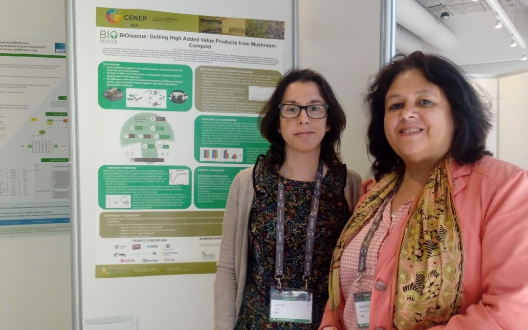 BIOrescue solutions showcased at EUBCE 2018